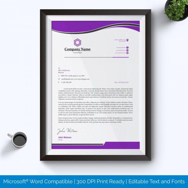 Free Printable Letterhead Template