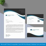 Editable Letterhead Template