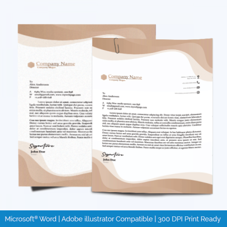 Letterhead Template Printable