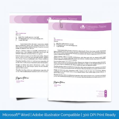 Printable Letterhead Sample