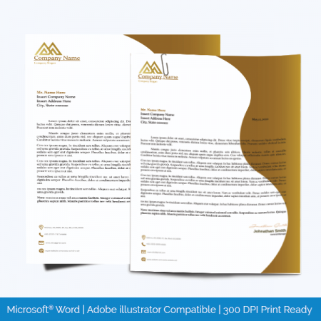 Letterhead Template Editable