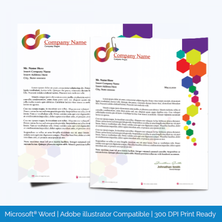 Sample of Letterhead Template