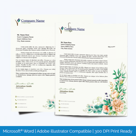 Editable Letterhead Sample