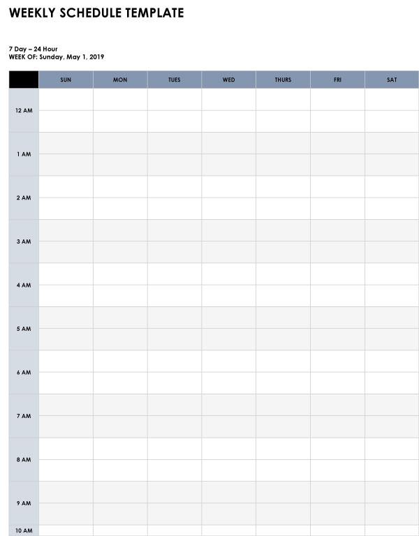 Activity log template 4