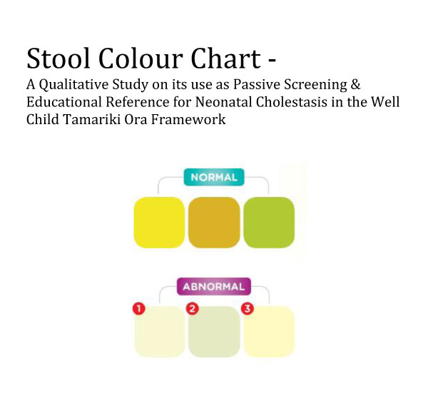 Adults Stool Color Chart