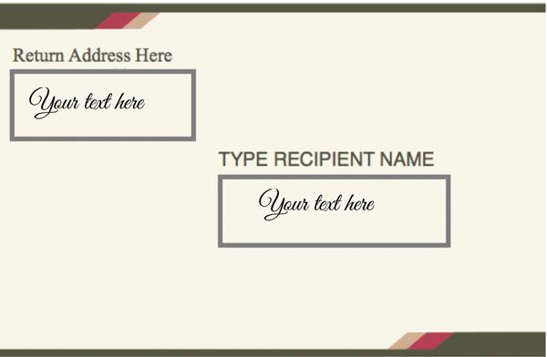 Mailing Label Template 04