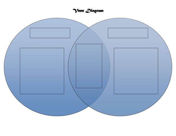 Venn Diagram Template 03