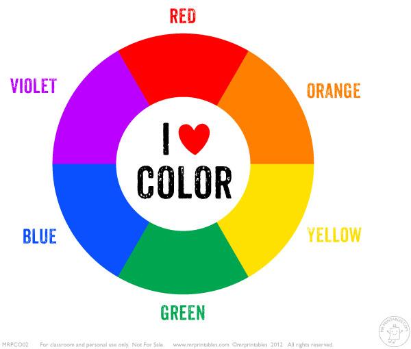 secondary color wheel