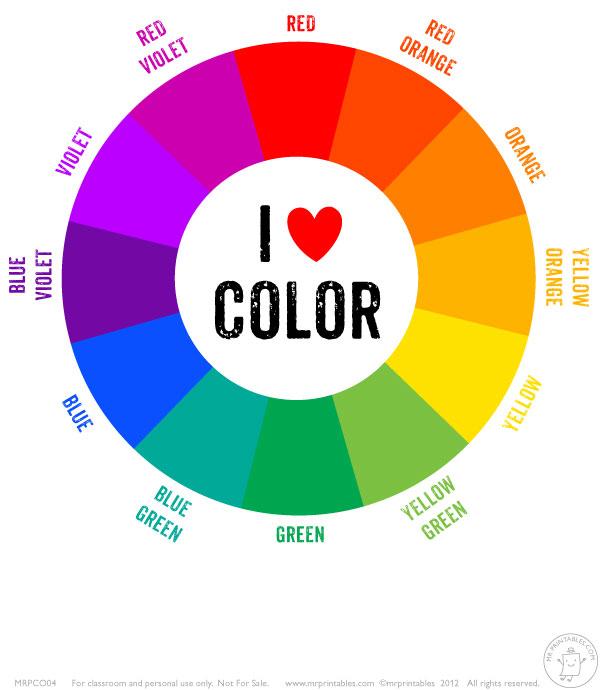 tertairy color wheel