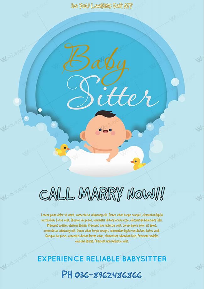 Baby-Sitter-Flyer-Sample-1.1