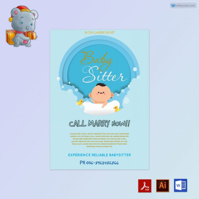 Baby-Sitter-Flyer-Sample