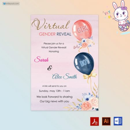 watercolor-floral-balloon-Gender Reveal