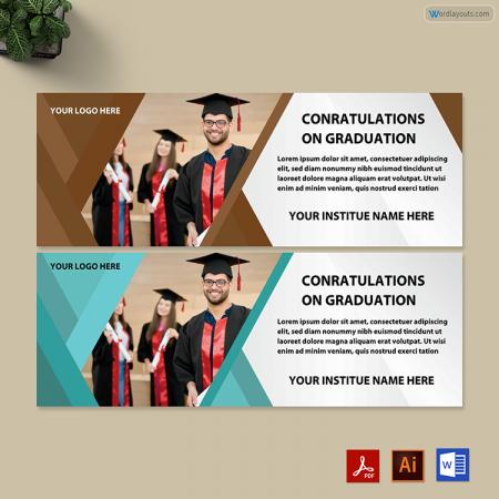 Graduation Raffle Ticket Template 02