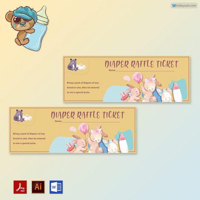 Diaper Raffle Ticket 01
