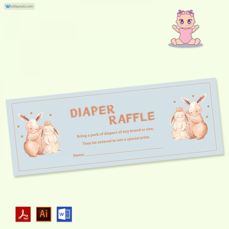 Diaper Raffle Ticket 03