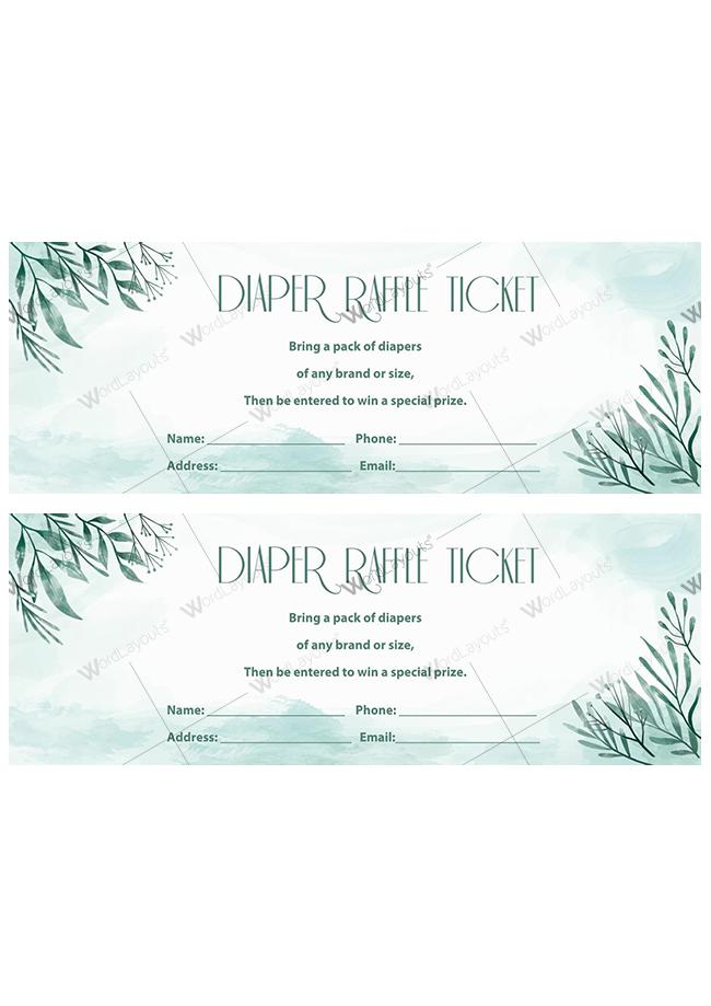Diaper Raffle Ticket 02