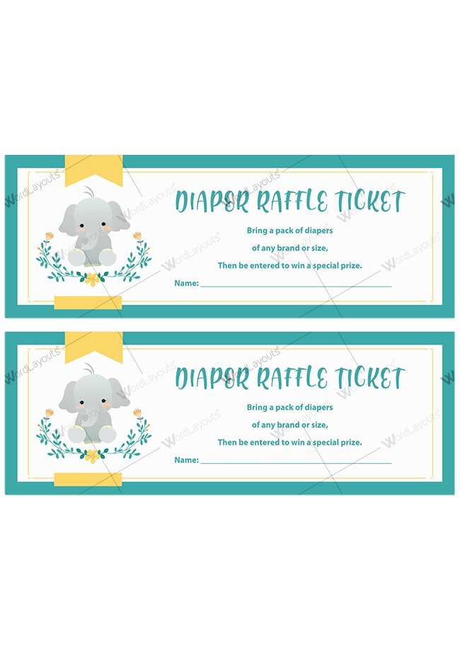 Diaper Raffle Ticket 04