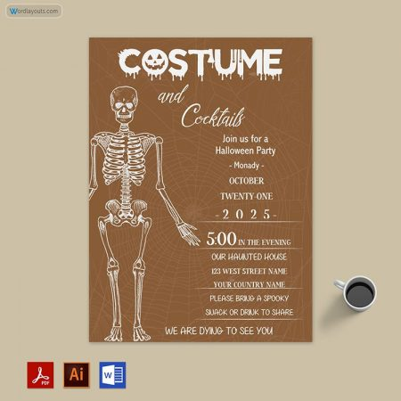 Halloween Party invitation 05