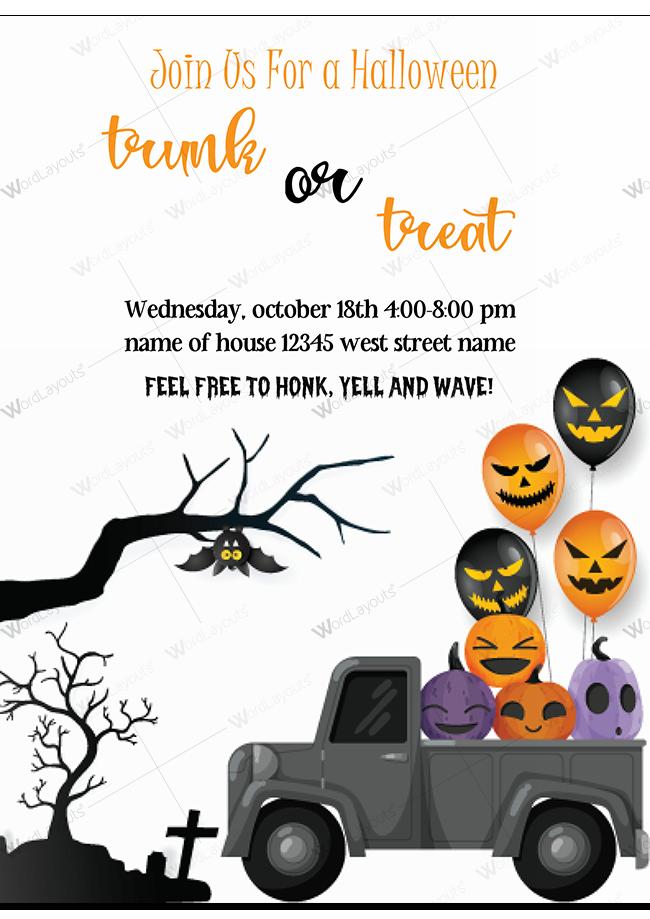 Halloween Party invitation 02