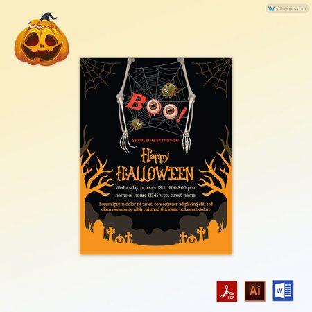 Halloween Flyer 03