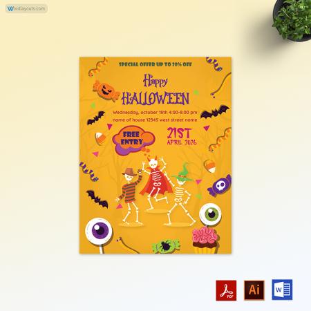 Halloween Flyer 04