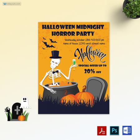 Halloween Flyer 05