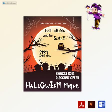 Halloween Flyer 07