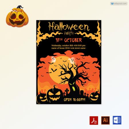 Halloween Flyer 08