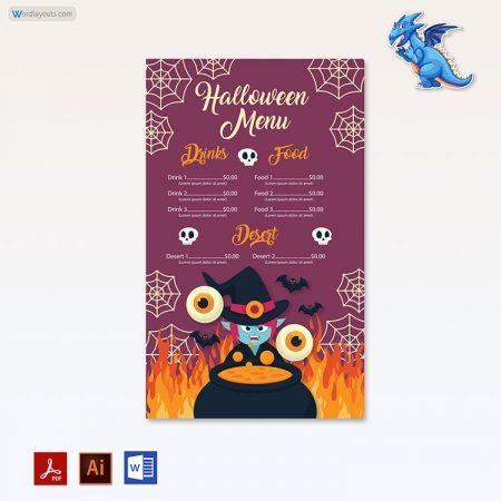 Halloween Party Menu 09