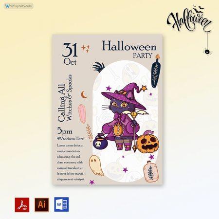 Halloween Party invitation 07