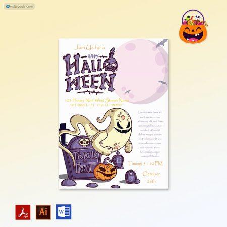 Halloween Party invitation 08
