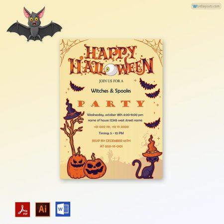 Halloween Party invitation 09