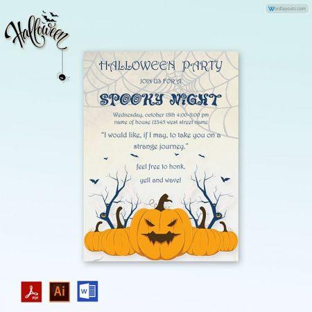 Halloween Party invitation 10